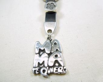 "Keychain ""mama te quiero"" - ref 0017 -"