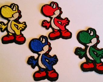 Mario Embroidered Iron On Patches