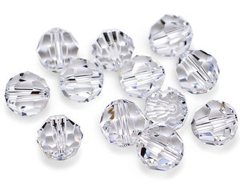Swarovski Crystal Round Crystal Beads 5000- Available in 4mm, 6mm, 8mm