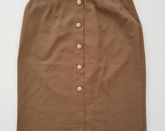 VINTAGE high waisted skirt 1950's