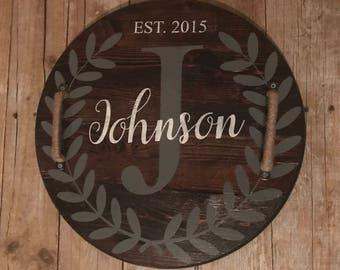 Custom Wood Tray