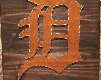Detroit Tigers String Art