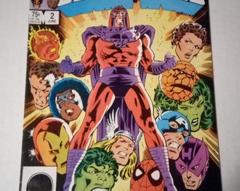 Marvel Super Heroes Secret Wars #2 (Marvel Comics 1984)