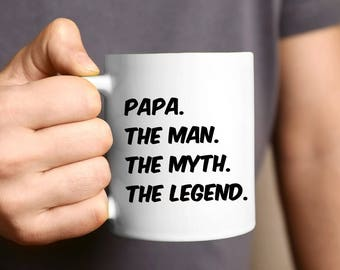 Papa Gift, Father's Day Gift, Coffee Mug, Grandpa Gift, Papa, Gift For Papa, Papa Mug, Personalized, Daddy Gift, Best Papa Ever, Birthday