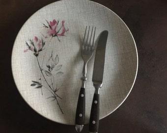 mid century dinner plate