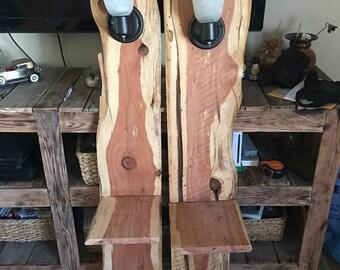 Set of 2 Cedar night stands
