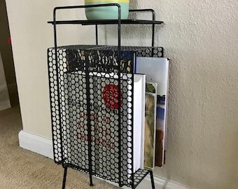 Mid Century Magazine/plant  rack  * Price reduction