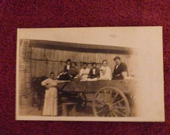1914 real photo postcard