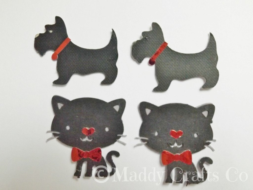 Scrapbook paper dogs - Sold By Maddycraftsco