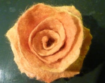 English rose brooch