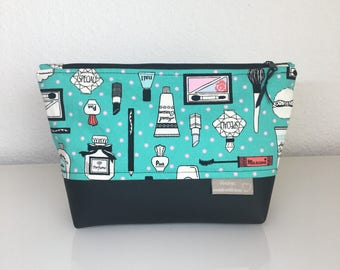 """Beauty"" large cosmetic bag"