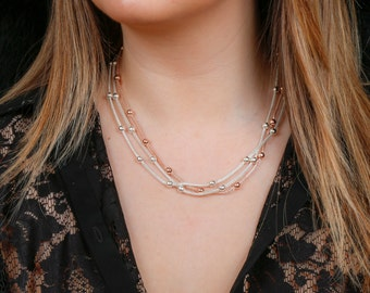 Multi Metal Necklace