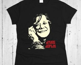Janis Joplin Women T-shirt
