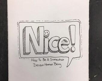 Nice! zine comic
