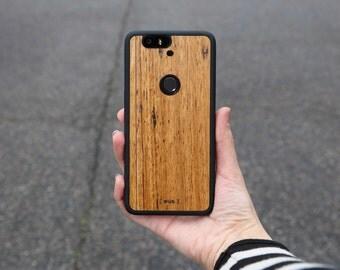 Google Nexus 6P Wood Case - Wormy Chestnut Phone Case