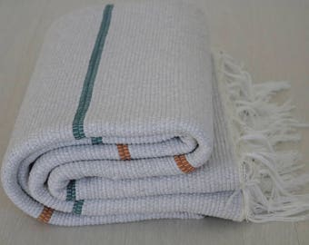 Large Woven Rag Rug, Handwoven Carpet, Handwoven Rug, Throw Rug, Boho Rug, Portuguese Cotton Rug.