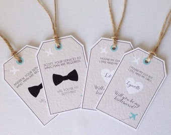 Will you be my wedding party gifts wedding stationery