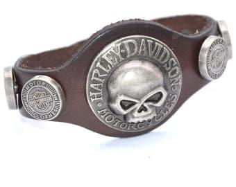 Midnight Rider Skull Bracelet