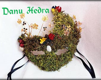 MASK WICCA BELTAINE