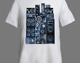 Speakers Music Concert T-shirt