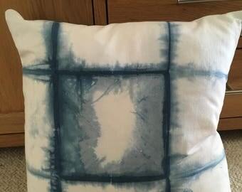 Shibori Duck Feather Cushion