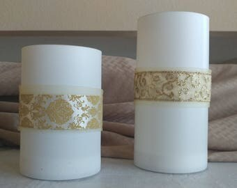 Reversible candle wrap