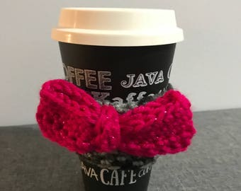 Bow For Your Joe  Cup Cozy