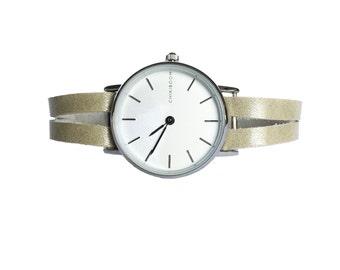 Delicate mint green women's watch - green Mint Women Watch delicate