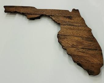 Florida State Sign, Florida Sign, Florida Cutout, Florida Wall Art, Florida Decor