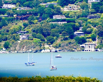 Boats on the Bay, Photography, Home Decor