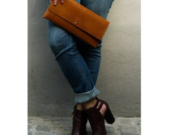 Bag Clutch in leather