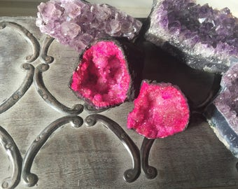 Gorgeous Thunder Egg | Agate Geode | Pink | Crystals | Stone | Mineral | Reiki | Spiritual Growth | Grounding | Energy