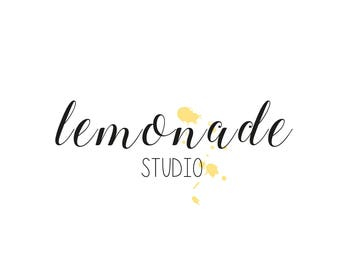 Custom Logo Design for Business Branding. Logo. Brand Identity. Calligraphy Watercolour