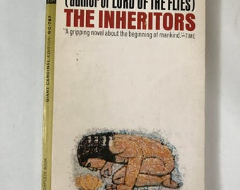 William Golding Book Inheritors Vintage Paperback Author The Lord of the Flies Add any Notecard 1.50