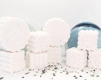 Spring scented bath bomb-bath bomb-Himalayan sea salt-skin smoothing-fizzy bomb