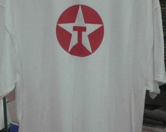 Mens Texaco t- shirt