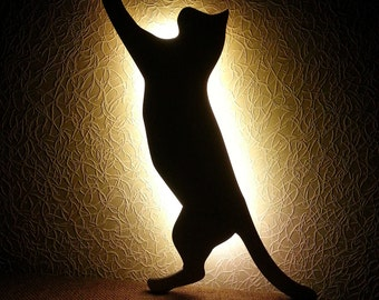 Houten wandlamp etsy - Nachtkastje schans ...