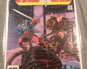 Copper Age Sword of the Atom- #2 Oct. 1983 Vintage Comic.