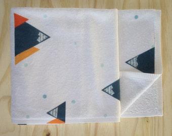 Mountain Print Children's Bath Towel - Super Soft