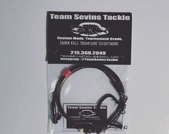 Team Sevins Tackle Paddle Out Surf Shark Rigs ( 2 pack )