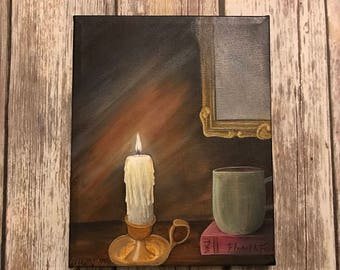 Quiet Evening original acrylic on canvas