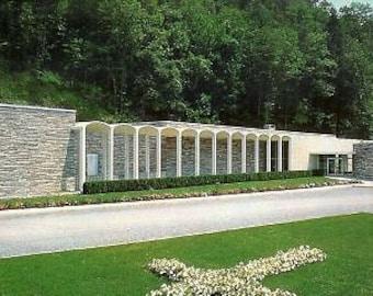 Christus Biblical Gardens-Gatlinburg,Tennessee Postcard