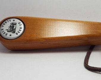 Handcrafted Cherry Wooden Bottle Opener