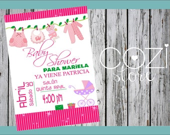 Invitation Baby Shower Ropita-nina