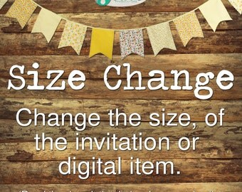 Change the Size -- Add On