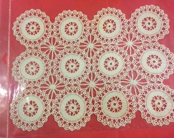 10 x 14 hand crochet spread