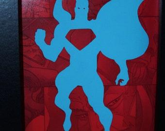Superman Papercut