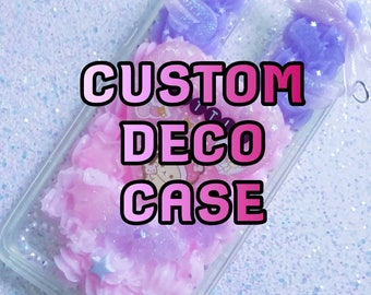 Custom Deco Case for iPhone Samsung Galaxy Note HTC iPad iPod LG ZTE Nokia