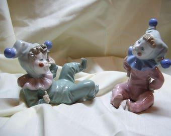 Lladro Porcelain Figurine Court Jester Clowns Jangles -Spain '88