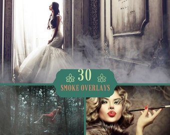30 Fog smoke overlay, Photoshop Overlay, Mystic Foggy Clouds Effect, Mist Haze Photo Effect, Realistic Cigarette Smoke, Mist Smoke, Digital